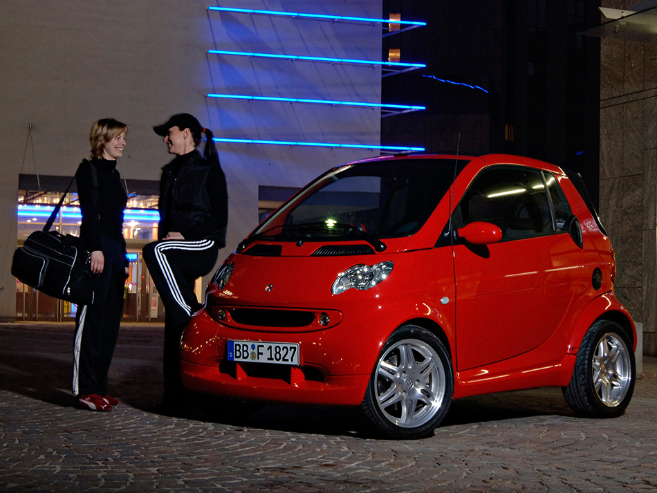 2006 Smart Fortwo Edition Red Girls