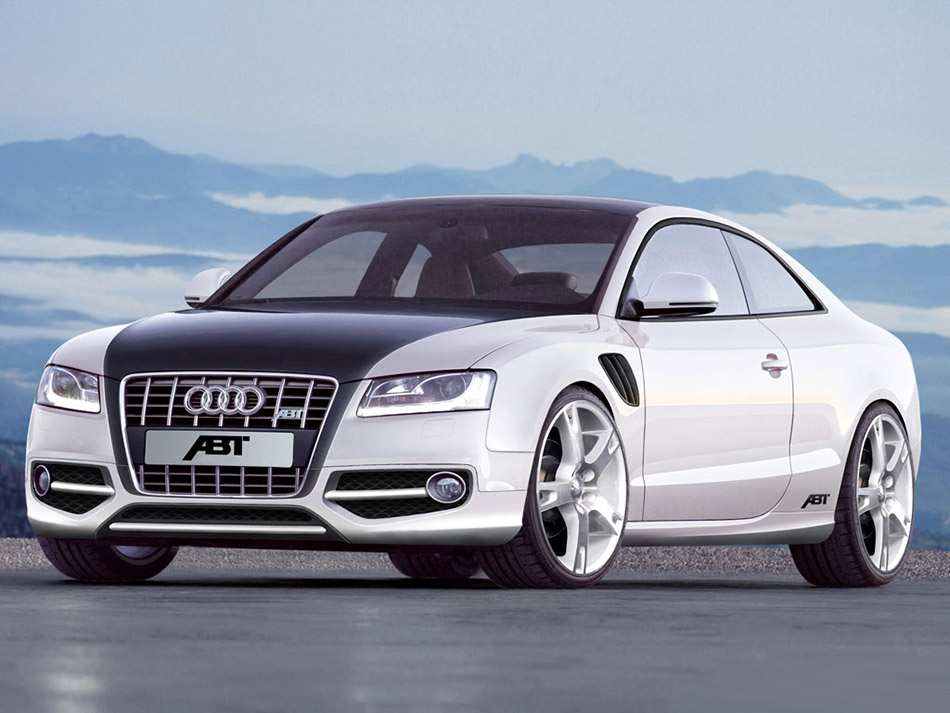 2007 ABT Audi AS5 Front Angle