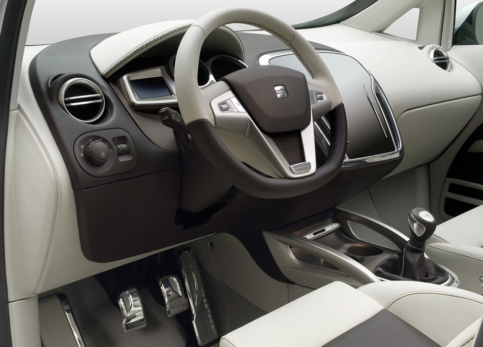 2007 Seat Altea Freetrack Concept Interior