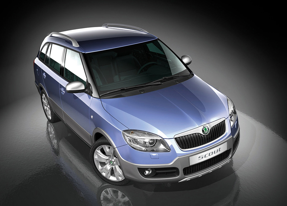 2007 Skoda Fabia Combi Scout Concept Front Angle