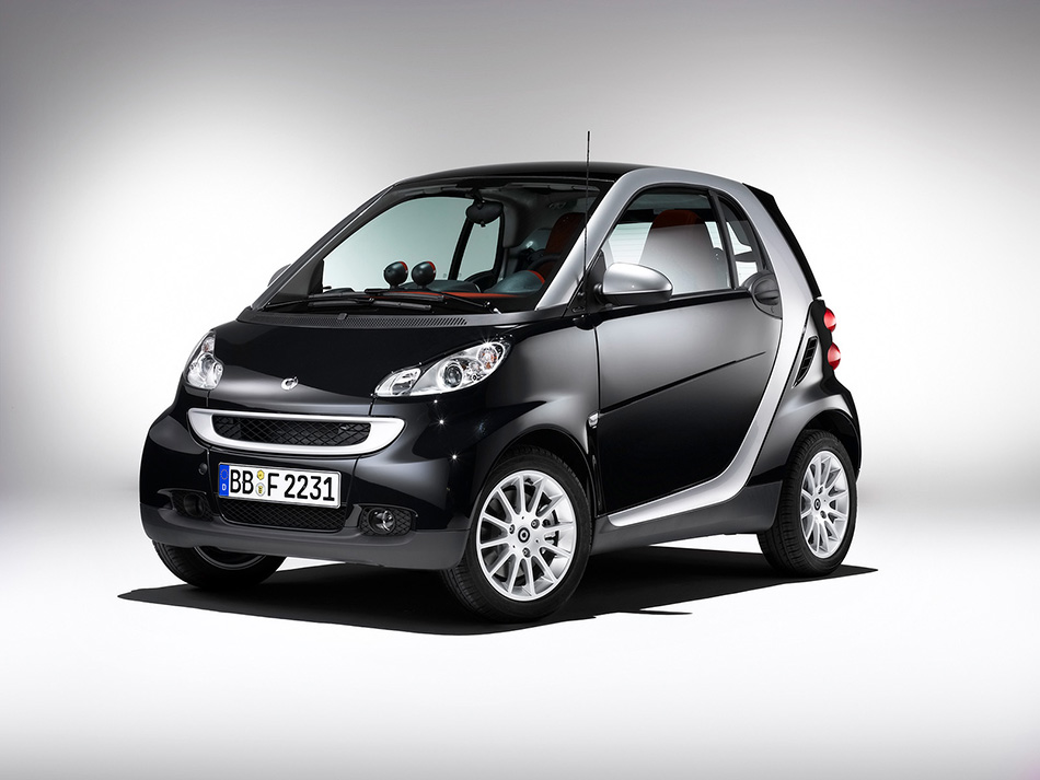 2007 Smart ForTwo Front Angle