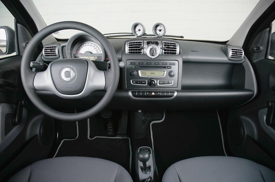 2007 Smart ForTwo Micro Hybrid Interior
