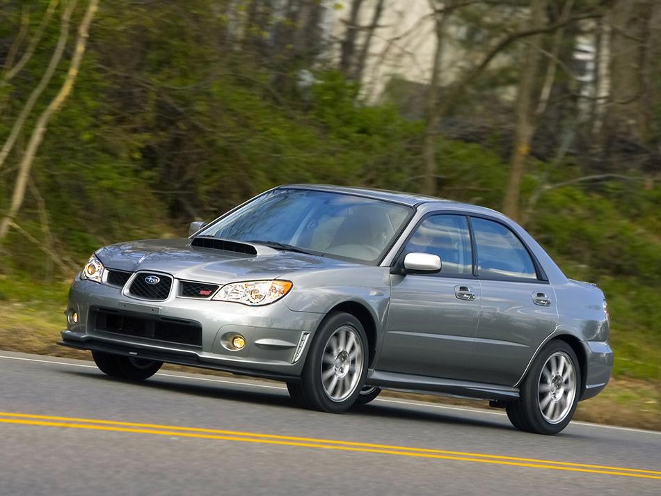2007 Subaru Impreza Wrx Sti Limited Hd Pictures Carsinvasion