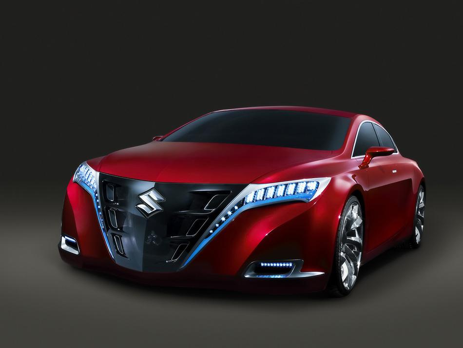 2007 Suzuki Kizashi Concept Front Angle
