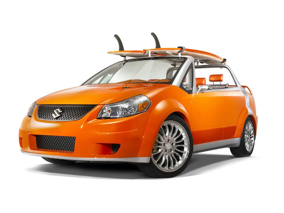 2007 Suzuki Makai Concept Front Angle