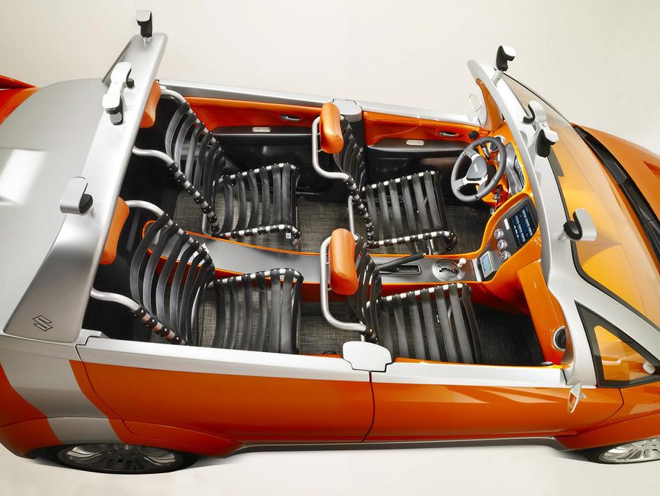 2007 Suzuki Makai Concept Interior
