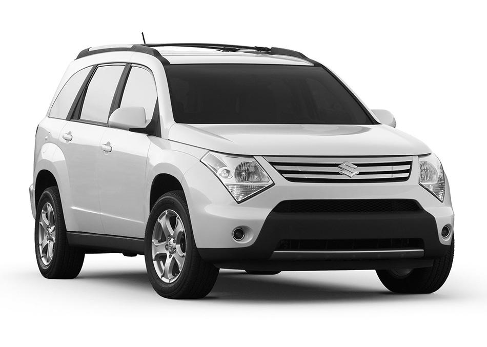 2007 Suzuki XL7 Front Angle