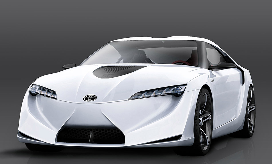 2007 Toyota FT-HS Concept Front Angle