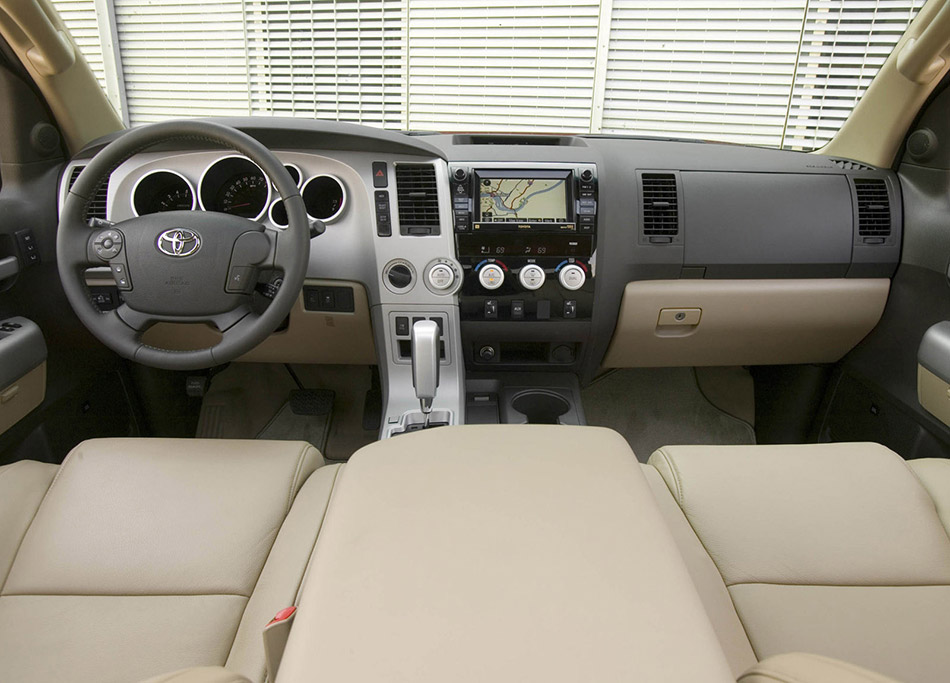 2007 Toyota Tundra CrewMax Interior