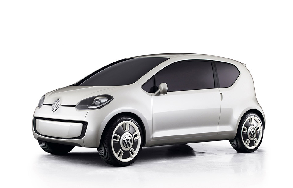 2007 Volkswagen Up Concept Front Angle