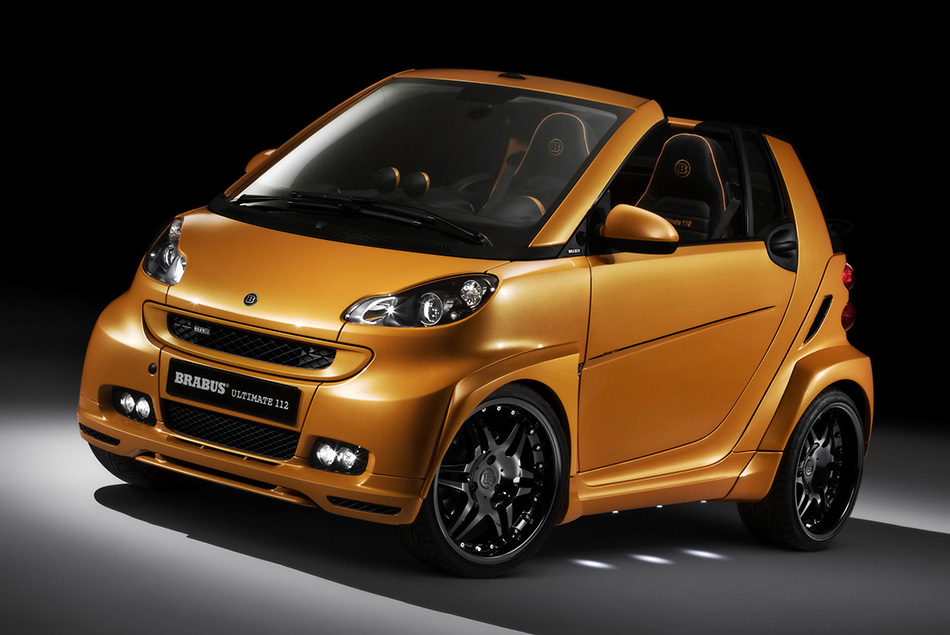 2008 Brabus Smart ForTwo Ultimate 112 Front Angle