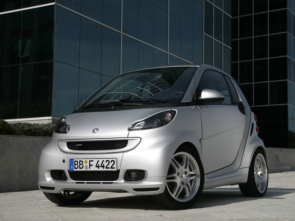 2008 Brabus Smart ForTwo Xclusive Front Angle