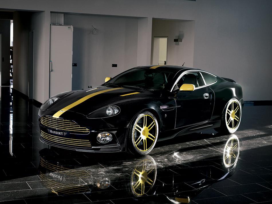 2008 MANSORY Aston Martin Vanquish Front Angle