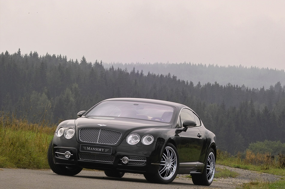 2008 MANSORY Bentley Continental GT Front Angle