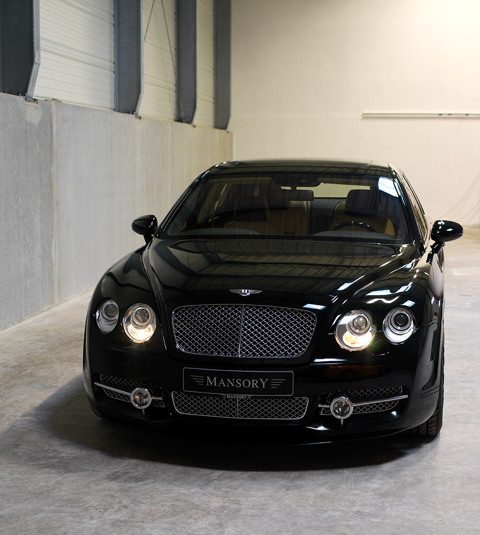 2008 MANSORY Bentley Flying Spur Front Angle