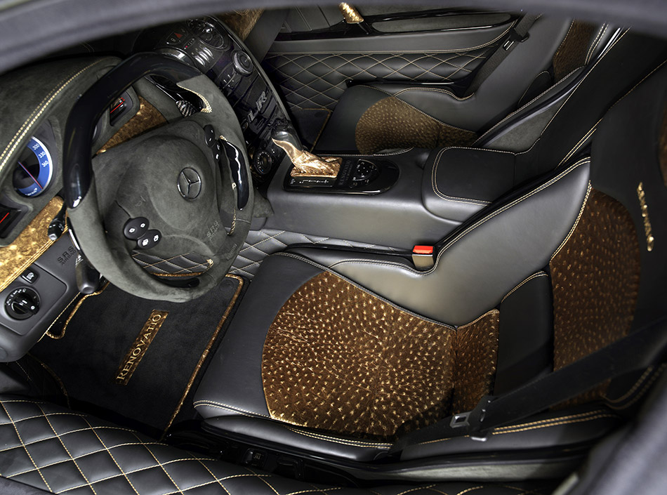 2008 MANSORY Renovatio Mercedes Benz SLR McLaren Interior