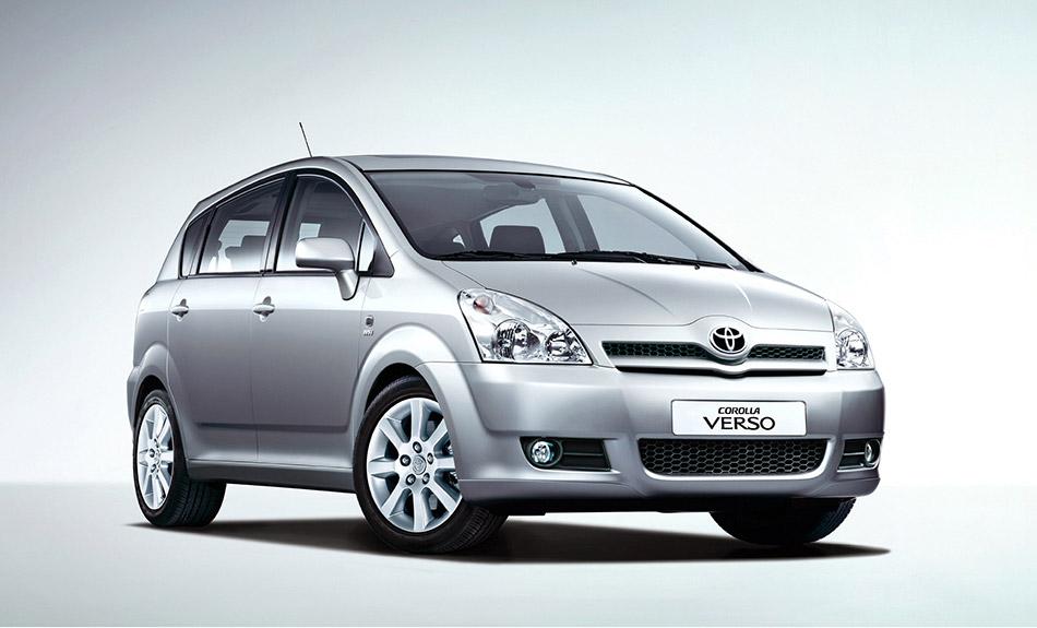 2008 Toyota Corolla Verso Front Angle