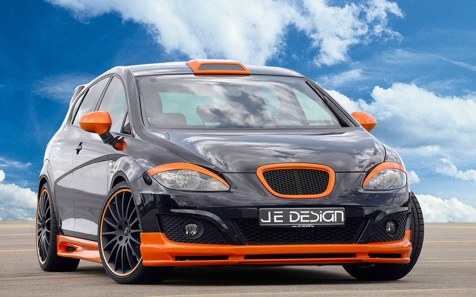 2009 JE Design Seat Leon Front Angle