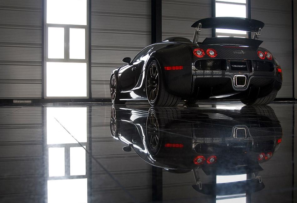 2009 MANSORY LINEA Vincero Bugatti Veyron 16.4 Rear