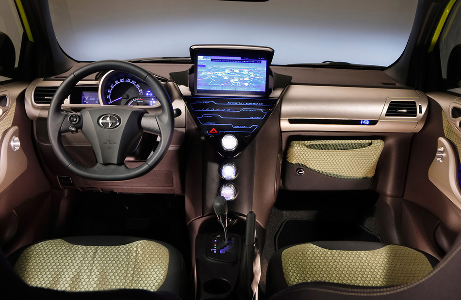 2009 Scion iQ Concept Five Axis Interior
