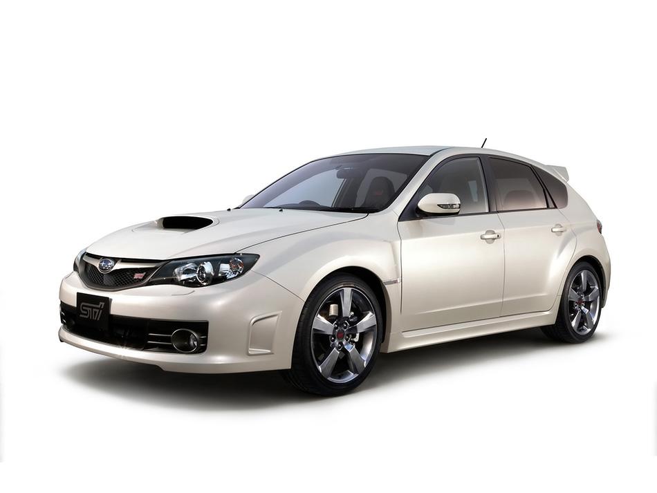 2009 Subaru Impreza WRX STI A-Line Front Angle