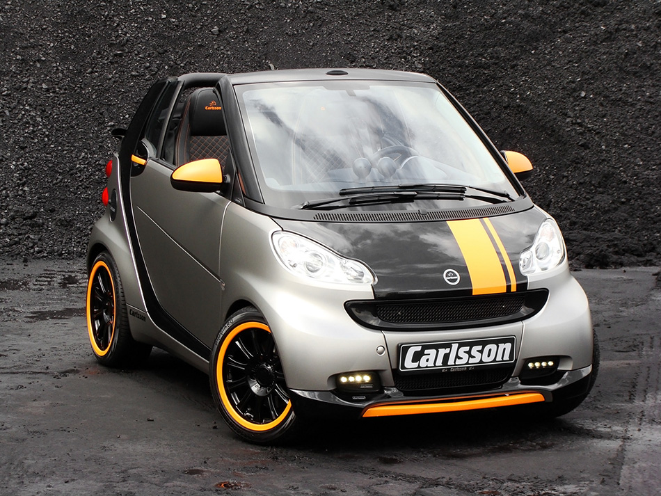 2010 Carlsson Smart ForTwo Front Angle