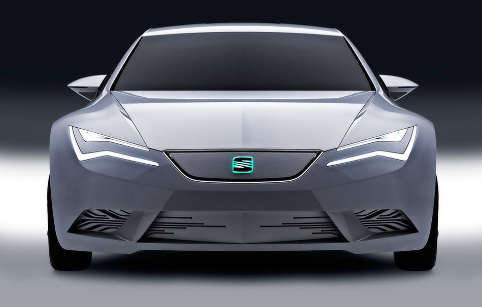 2010 Seat IBE Concept Front Angle