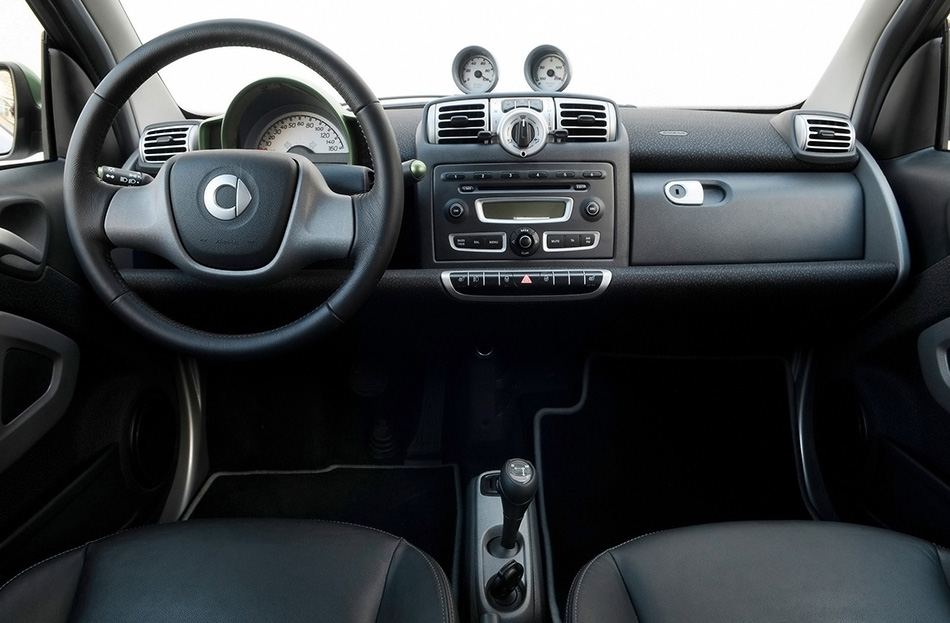 2010 Smart ForTwo Electric Drive Interior