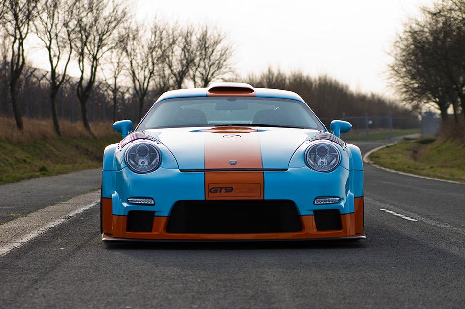 2011 9ff Porsche GT9-CS Front
