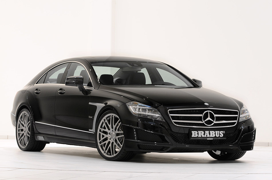 2011 Brabus Mercedes-Benz CLS Coupe Front Angle