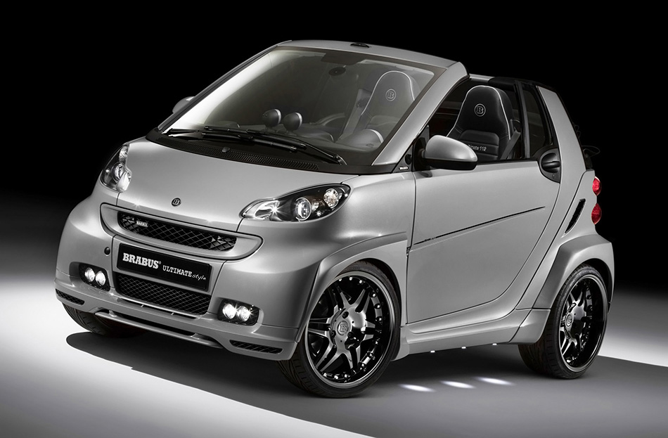 2011 Brabus Smart Ultimate Style Front Angle
