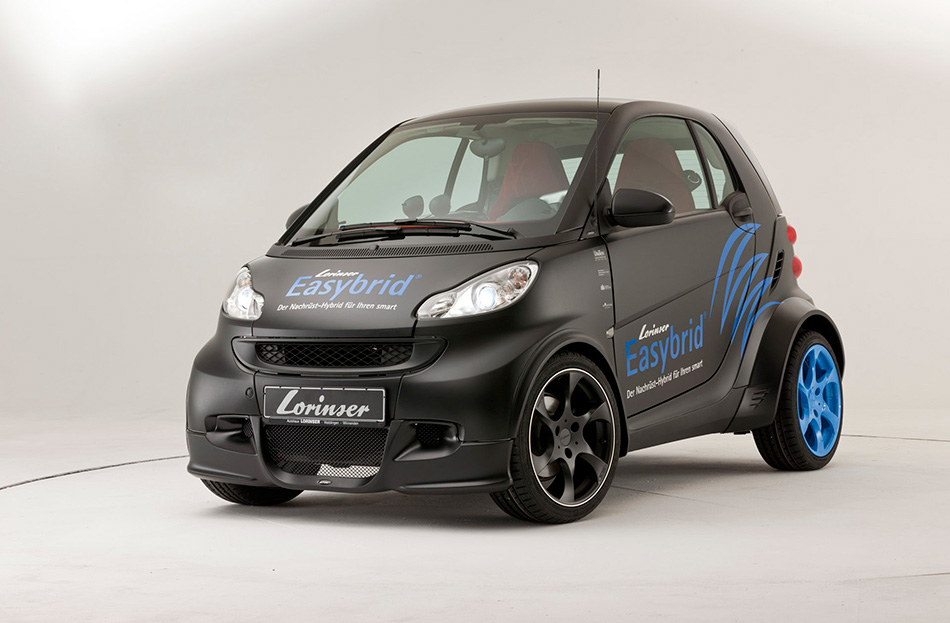 2011 Lorinser Smart ForTwo Easybrid Front Angle