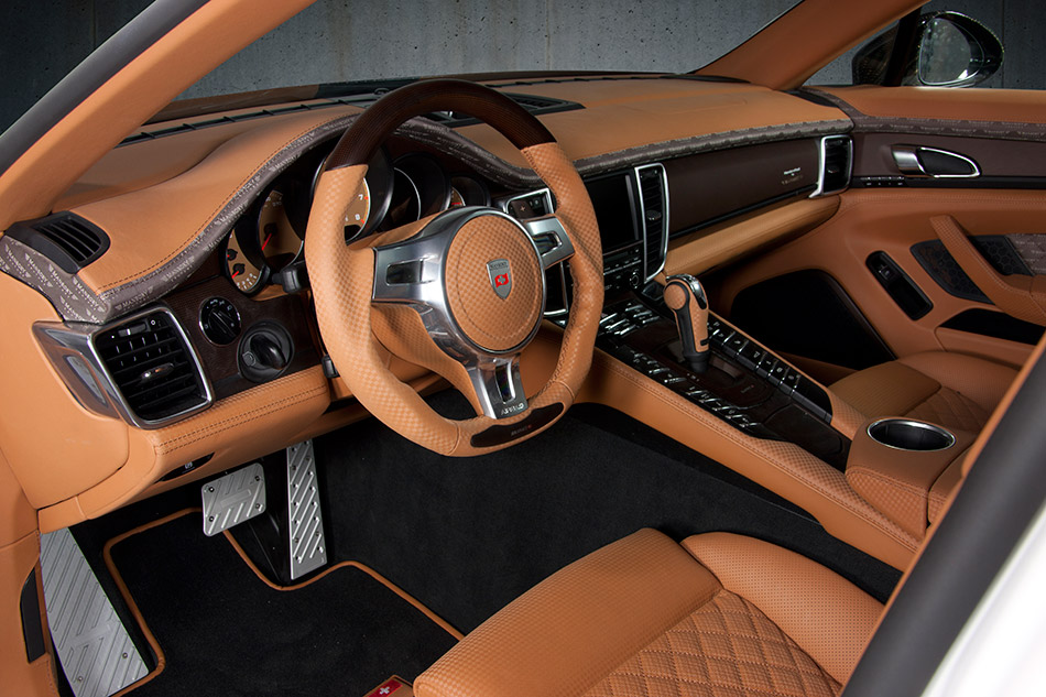 2011 MANSORY Porsche Panamera Interior