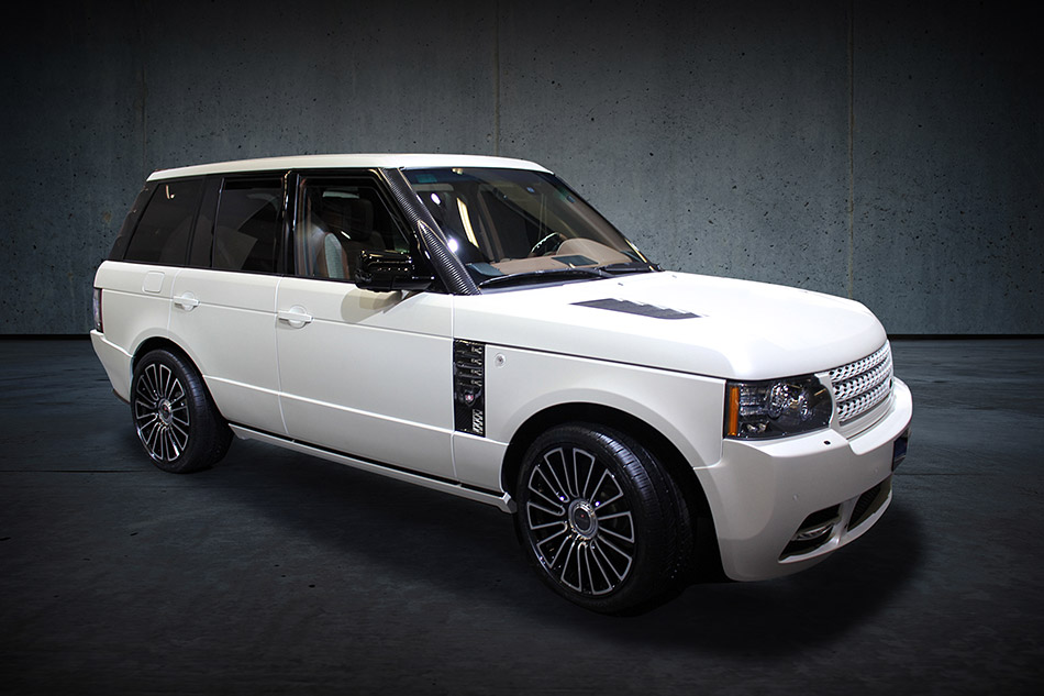 2011 MANSORY Range Rover Vogue Front Angle