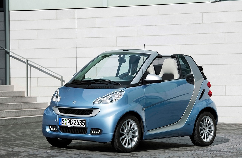 2011 Smart ForTwo Front Angle