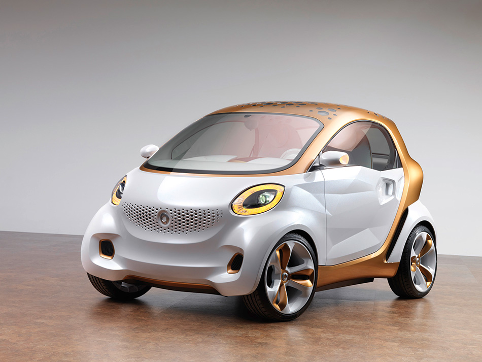 2011 Smart ForVision Concept Front Angle