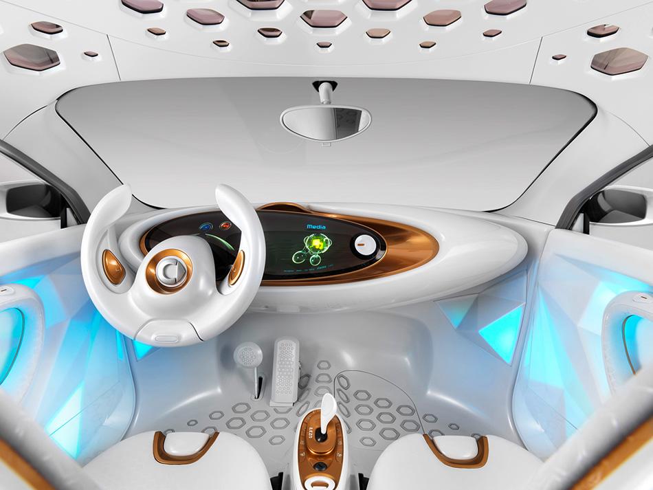 2011 Smart ForVision Concept Interior