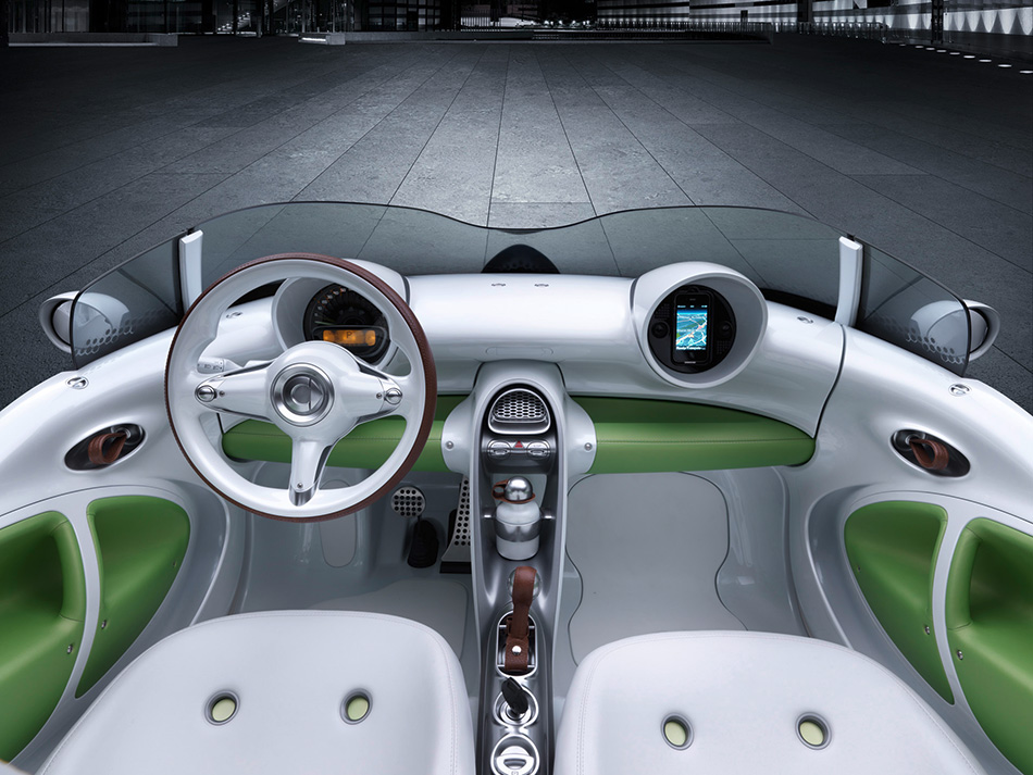 2011 Smart Forspeed Concept Interior