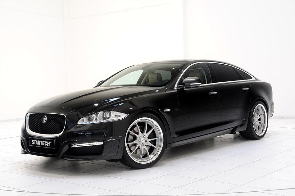 2011 Startech Jaguar XJ Luxury Sedan Front Angle