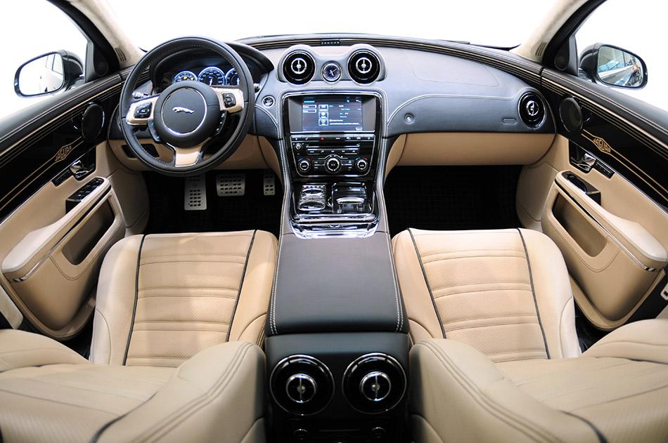 2011 Startech Jaguar XJ Luxury Sedan Interior