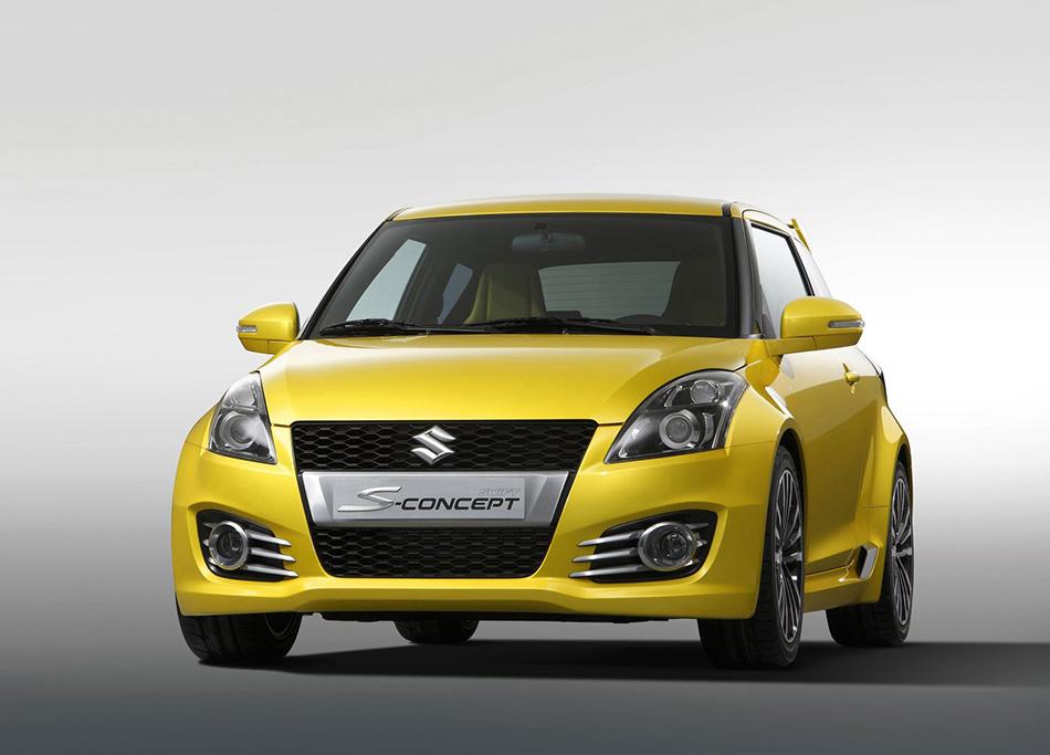 2011 Suzuki Swift S-Concept Front Angle