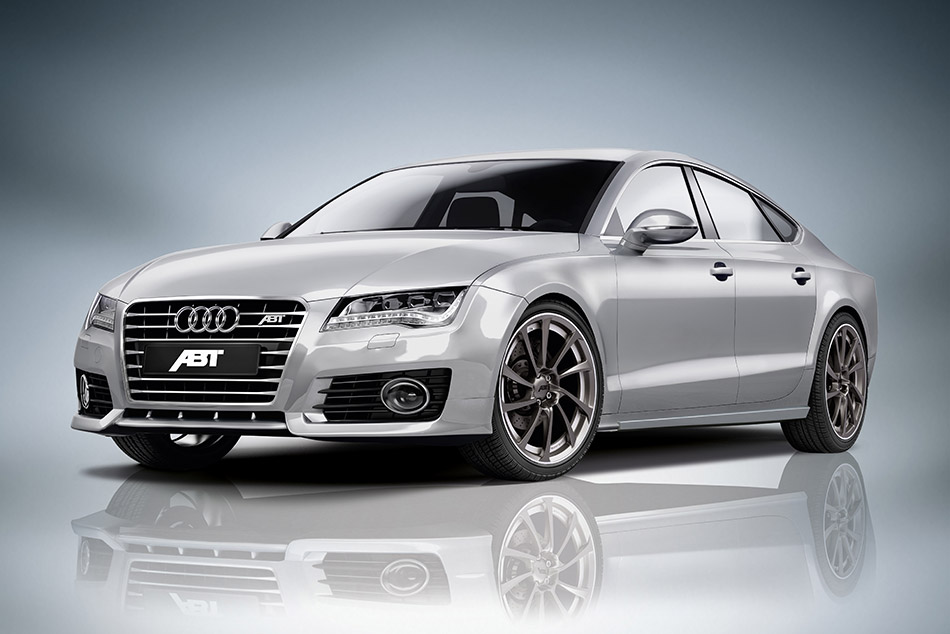 2012 ABT Audi A7 Front Angle