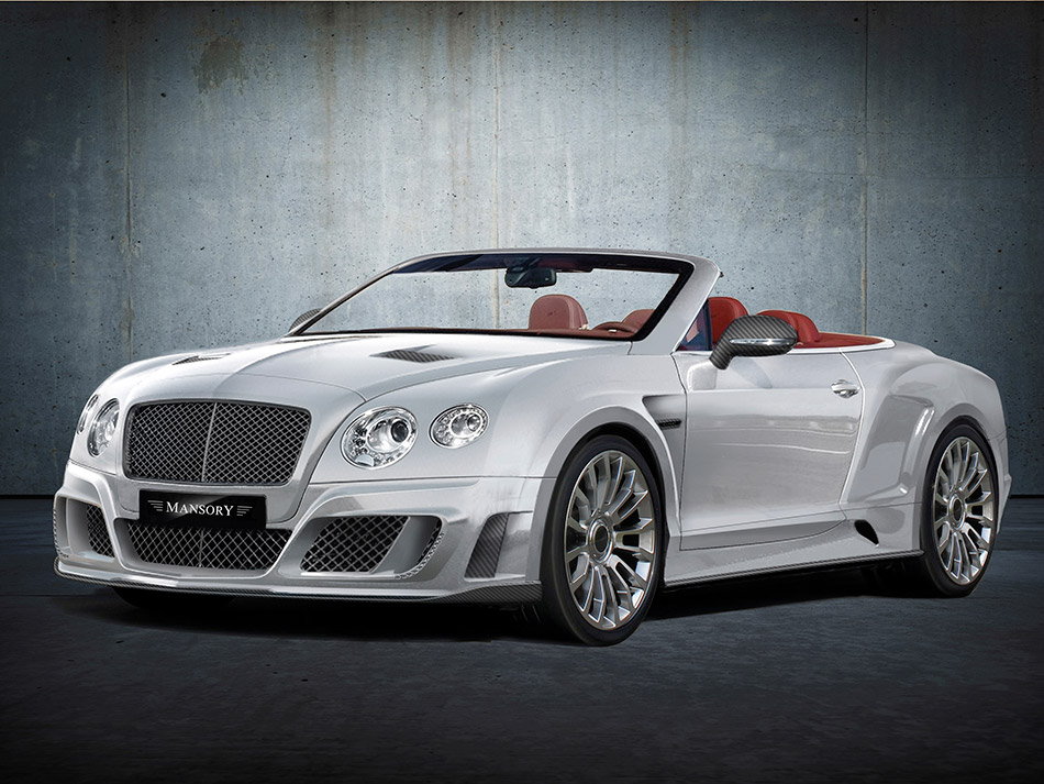 2012 LE MANSORY GTC II Bentley Continental GTC Front Angle