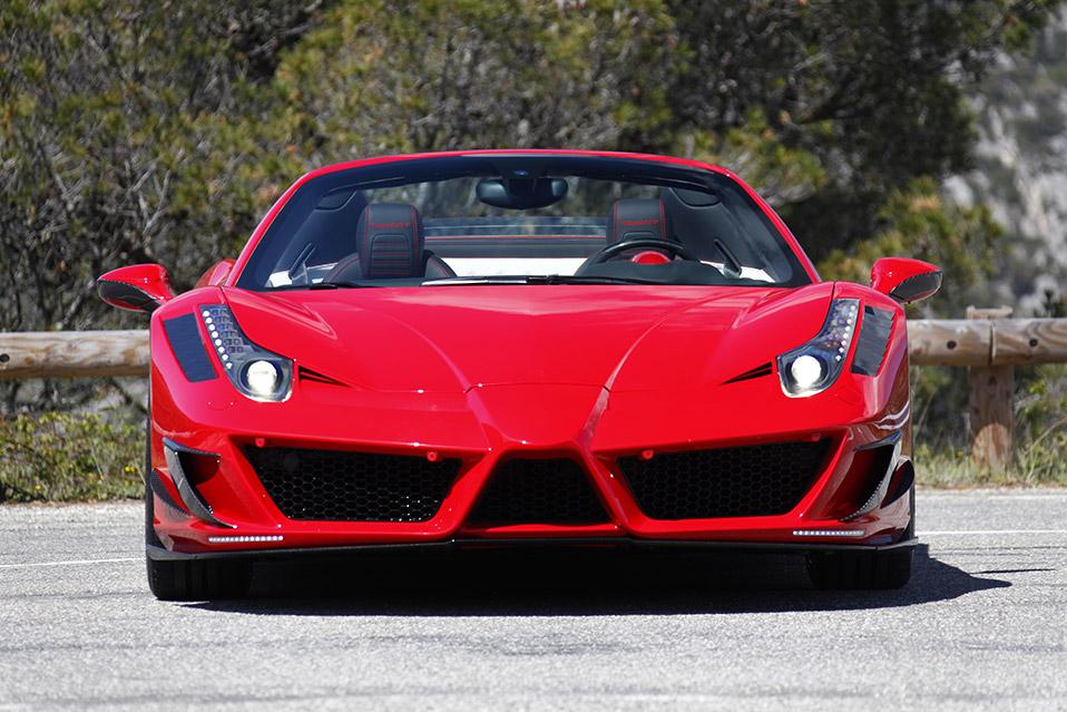 2012 MANSORY Ferrari 458 Spider Front