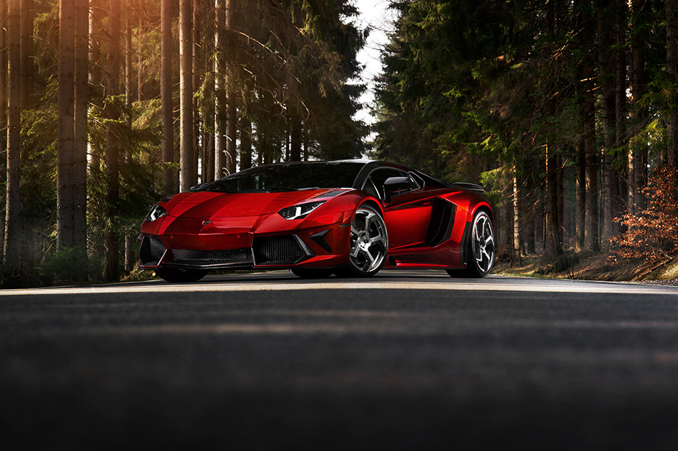 2012 MANSORY Lamborghini Aventador Front Angle