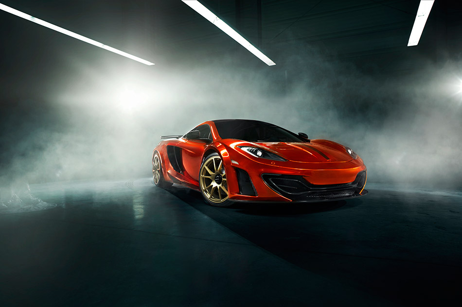 2012 MANSORY McLaren MP4-12C Front Angle