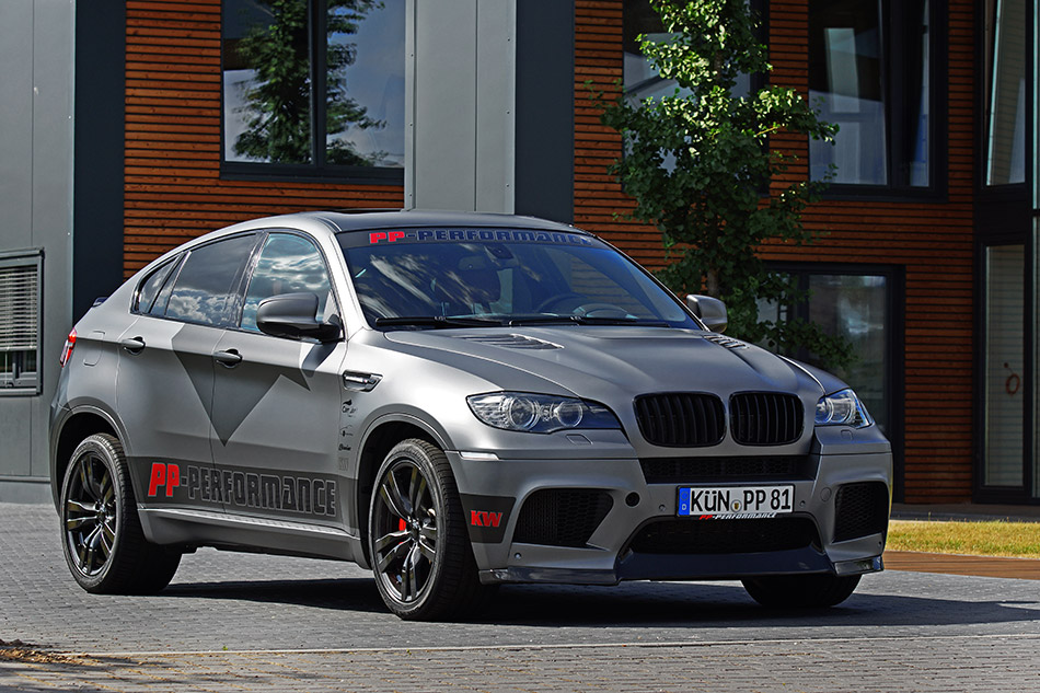 2013 Cam Shaft BMW X6M Front Angle