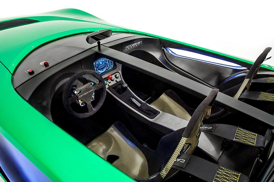 2013 Caterham AeroSeven Concept Interior