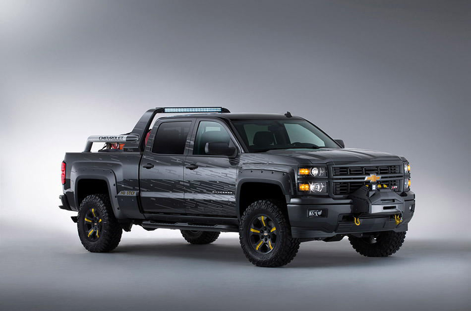 2013 Chevrolet Silverado Black Ops Concept Front Angle