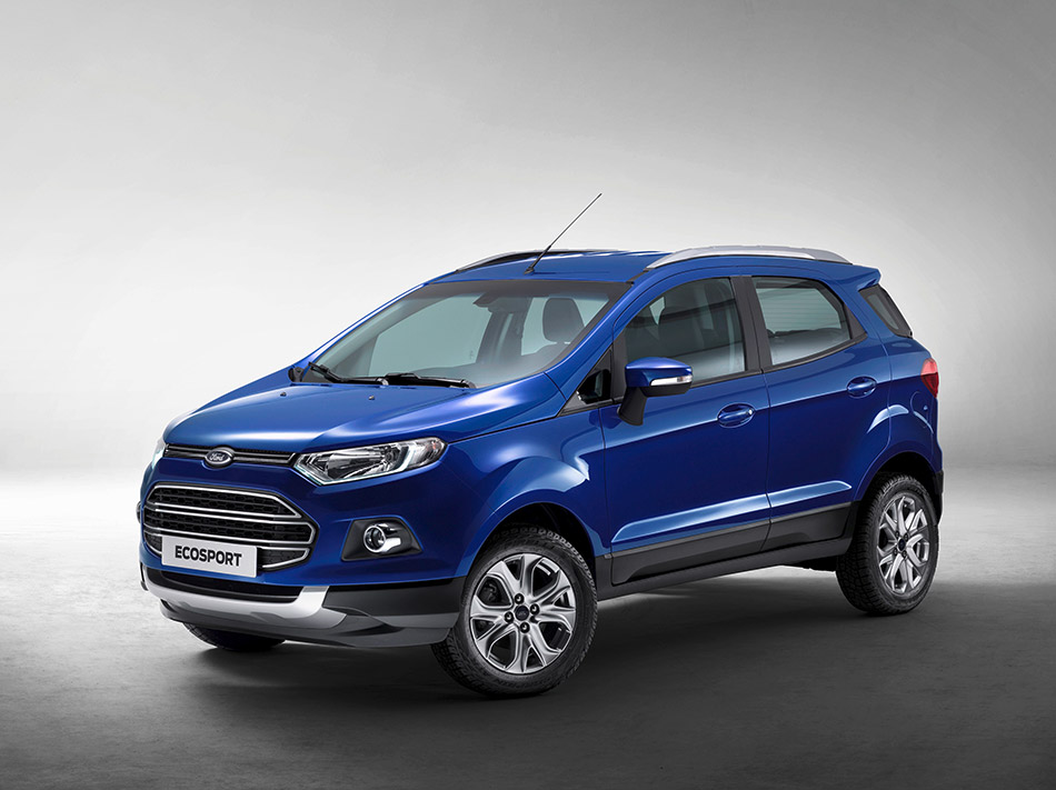 2013 Ford EcoSport Limited Edition Front Angle